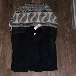 Pacsun sheer button up